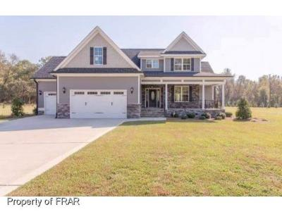 Hope Mills NC Single Family Home For Sale: $399,900