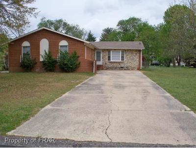 Fayetteville NC Single Family Home For Sale: $84,900