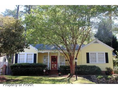 Fayetteville NC Single Family Home For Sale: $219,000
