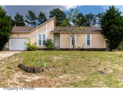 Hope Mills NC Single Family Home For Sale: $85,000