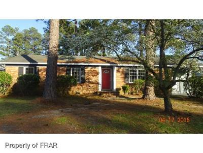 Fayetteville NC Single Family Home For Sale: $45,000