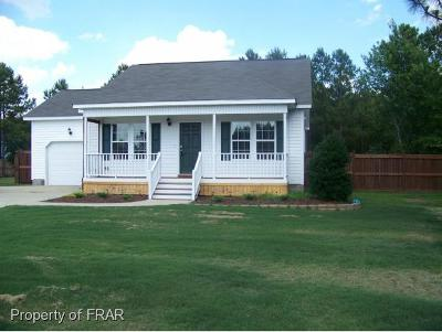 Harnett County Single Family Home For Sale: 177 Jumpmaster Dr
