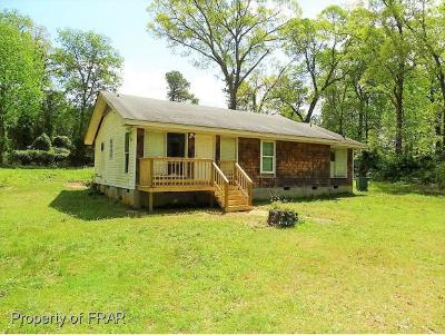 Fayetteville NC Single Family Home For Sale: $55,500