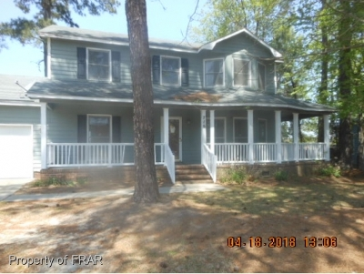 Fayetteville NC Single Family Home For Sale: $129,900