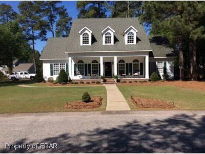 Fayetteville NC Single Family Home For Sale: $244,500