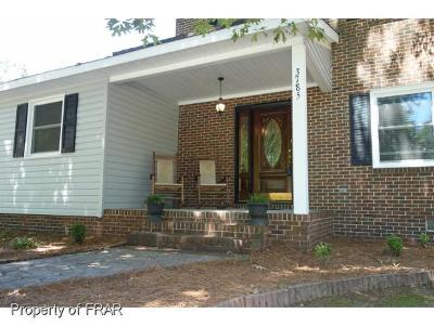 Robeson County Single Family Home For Sale: 3785 Berkley Ln