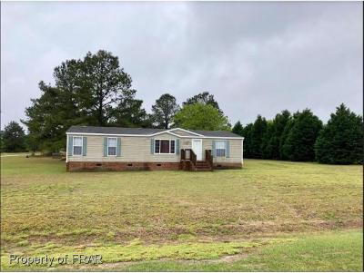 Sampson County Single Family Home For Sale: 7504 Hidden Lane