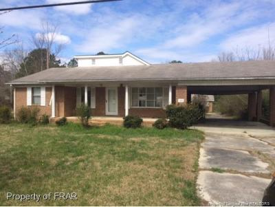 Harnett County Single Family Home For Sale: 3189 Bunnlevel Erwin Rd