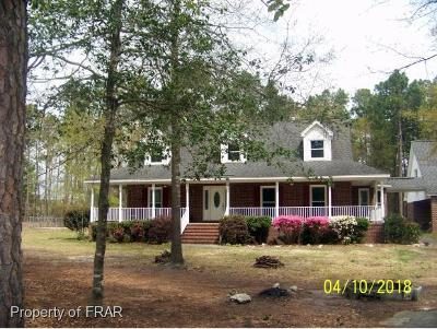 Hope Mills NC Single Family Home For Sale: $285,000