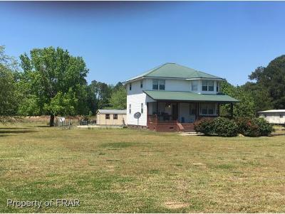 Robeson County Single Family Home For Sale