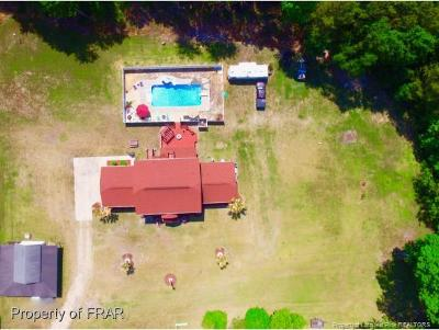 Robeson County Single Family Home For Sale: 1267 Shannon Rd