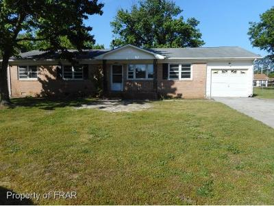 Fayetteville NC Single Family Home For Sale: $45,450