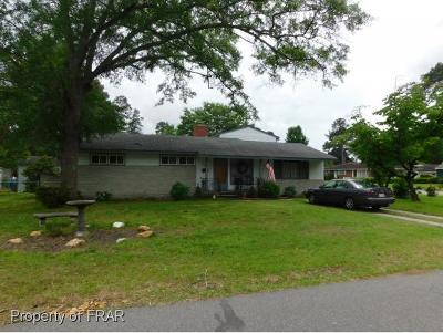 Robeson County Single Family Home For Sale: 705 24th St