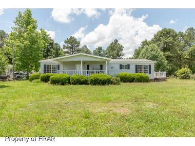 Robeson County Single Family Home For Sale: 9882 Nc 72 Hwy #4
