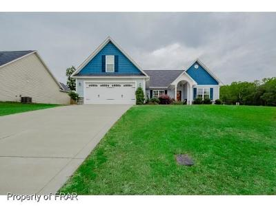 Hope Mills NC Single Family Home For Sale: $186,500