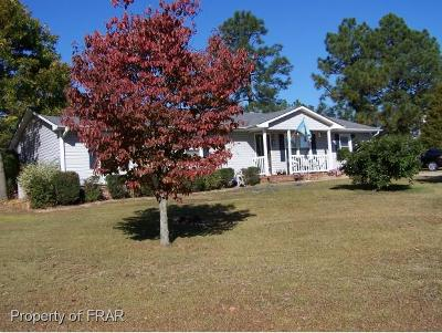 Hope Mills NC Single Family Home For Sale: $119,999