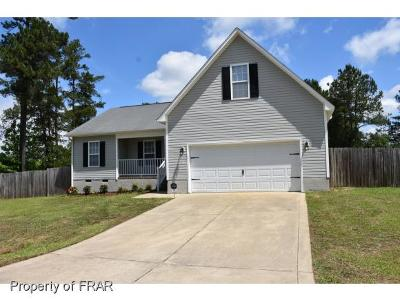Raeford Single Family Home For Sale: 115 North Copper Creek