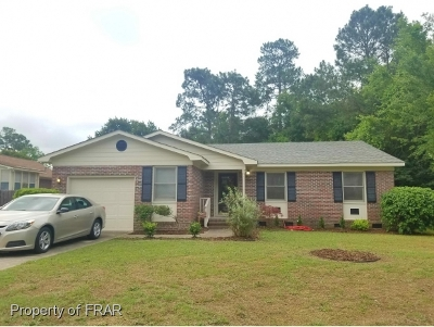 Fayetteville Single Family Home For Sale: 6889 Green Creek Road