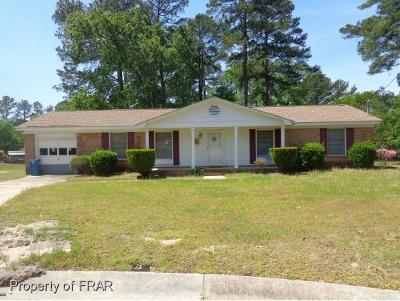 Fayetteville Single Family Home For Sale: 3103 Mars Place #291