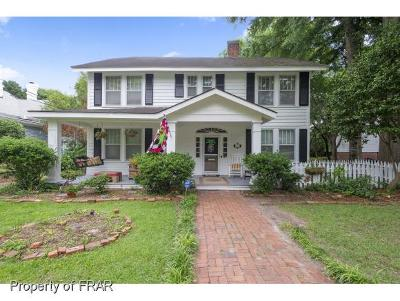 Fayetteville Single Family Home For Sale: 210 Hillside Avenue