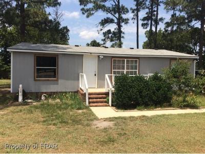 Harnett County Single Family Home For Sale: 151 Gibbs Rd #7