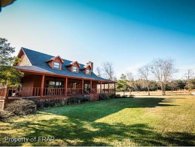 Robeson County Single Family Home For Sale: 1343 Norment Road