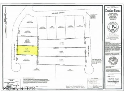 Raeford Residential Lots & Land For Sale: Lot 53 Dundee Farm Road