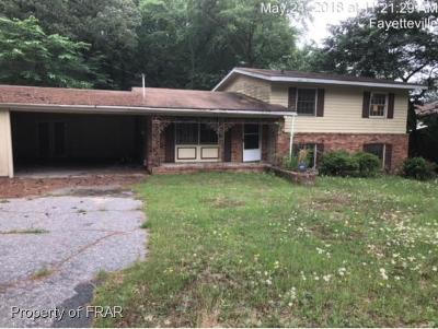 Fayetteville NC Single Family Home For Sale: $51,300