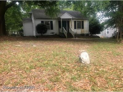 Fayetteville NC Single Family Home For Sale: $74,900