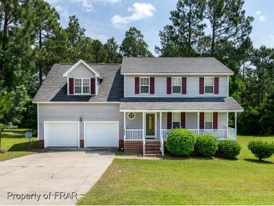 Harnett County Single Family Home For Sale: 1175 Roundabout Road #75