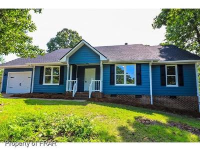 Fayetteville NC Single Family Home For Sale: $154,000
