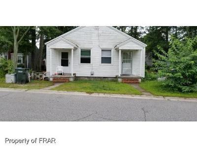 Fayetteville NC Multi Family Home For Sale: $93,000