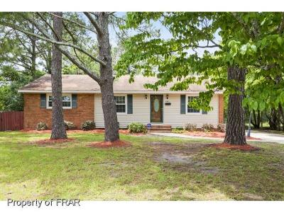 Fayetteville Single Family Home For Sale: 5341 Maryland Drive