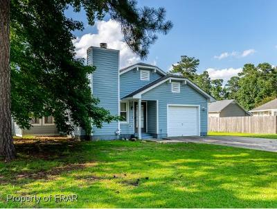 Fayetteville NC Single Family Home For Sale: $117,900