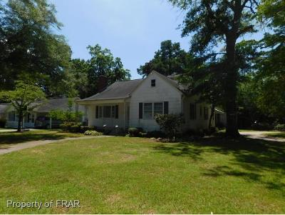 Robeson County Single Family Home For Sale: 213 17th Street