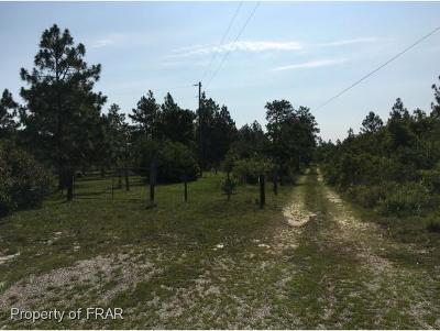 Harnett County Residential Lots & Land For Sale: 1381 Micro Tower Road