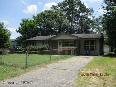 Fayetteville NC Single Family Home For Sale: $19,900