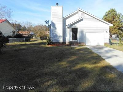 Hope Mills NC Single Family Home For Sale: $84,900