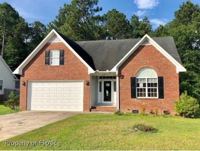 Hope Mills NC Single Family Home For Sale: $109,900