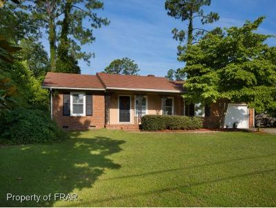 Fayetteville NC Single Family Home For Sale: $149,900