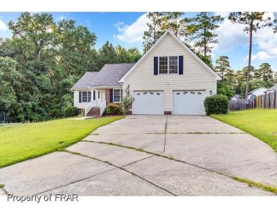 Fayetteville NC Single Family Home For Sale: $197,000
