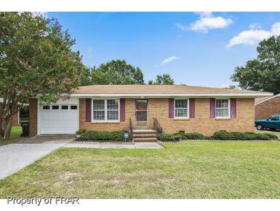 Fayetteville NC Single Family Home For Sale: $73,000