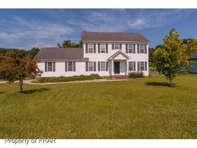 Raeford  Single Family Home For Sale: 155 Bent Oak Ct