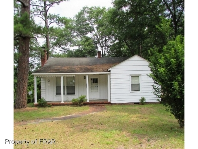 Fayetteville NC Single Family Home For Sale: $40,700