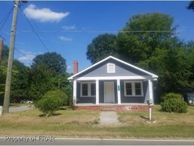 Fayetteville NC Single Family Home For Sale: $48,000
