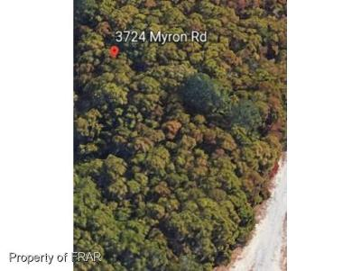 Cumberland County Residential Lots & Land For Sale: 3724 Myron Rd