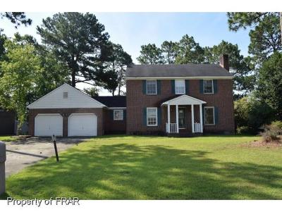 Fayetteville NC Single Family Home For Sale: $91,500