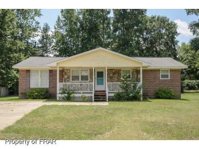 Fayetteville NC Single Family Home For Sale: $108,500