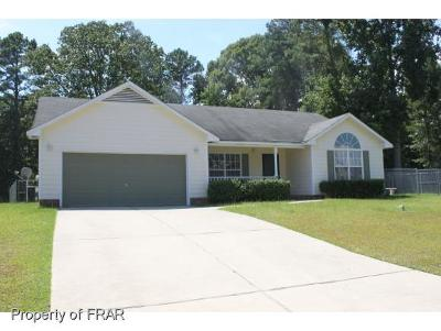 Fayetteville NC Single Family Home For Sale: $124,500
