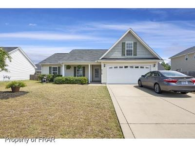 Hope Mills NC Single Family Home For Sale: $149,500